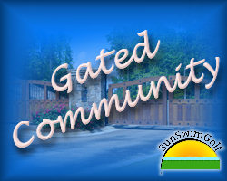 New Home Gated Community